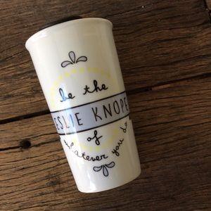 Leslie Knope Travel Coffee Tea Mug Parks & Rec